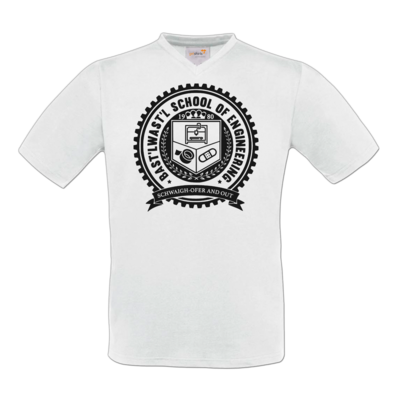 Motiv: T-Shirt V-Neck FAIR WEAR - Bast'lwast'l School of Engineering