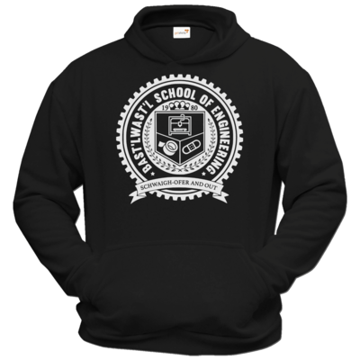 Motiv: Hoodie Classic - Bast'lwast'l School of Engineering