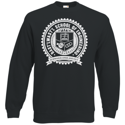 Motiv: Sweatshirt Classic - Bast'lwast'l School of Engineering