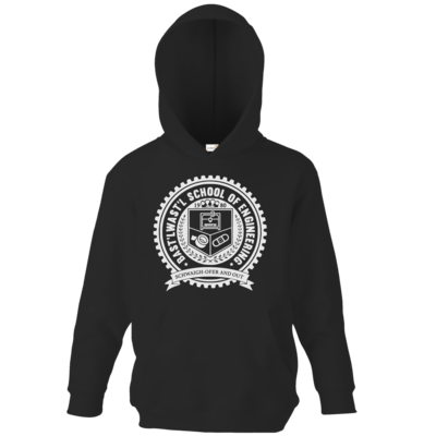 Motiv: Kids Hooded Sweat - Bast'lwast'l School of Engineering