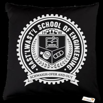 Motiv: Kissen Baumwolle - Bast'lwast'l School of Engineering