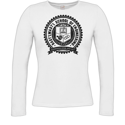 Motiv: Longsleeve Damen Organic - Bast'lwast'l School of Engineering