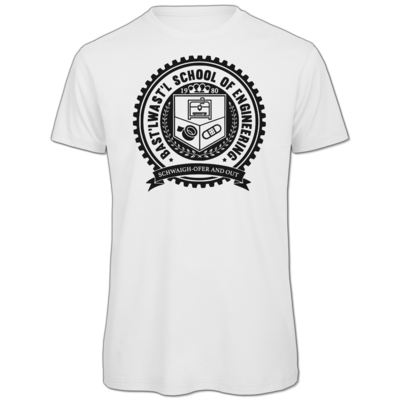 Motiv: Organic T-Shirt - Bast'lwast'l School of Engineering