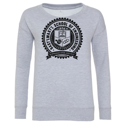 Motiv: Girlie Crew Sweatshirt - Bast'lwast'l School of Engineering