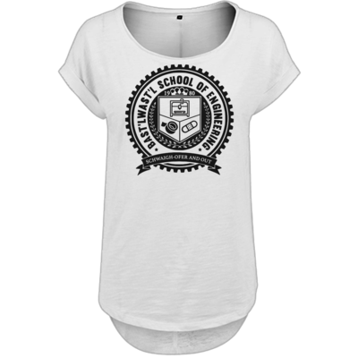 Motiv: Ladies Long Slub Tee - Bast'lwast'l School of Engineering