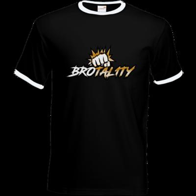 Motiv: T-Shirt Ringer - Goldenfist