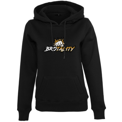 Motiv: Womens Heavy Hoody - Goldenfist