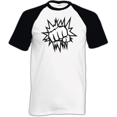 Motiv: TShirt Baseball - NEW WhiteBro