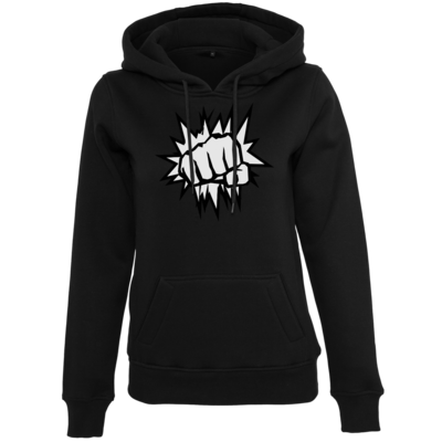 Motiv: Womens Heavy Hoody - NEW WhiteBro