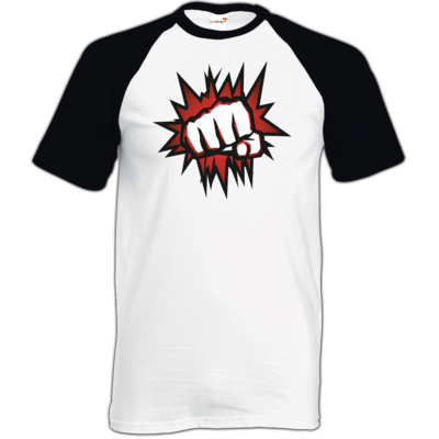 Motiv: TShirt Baseball - NEW Redfist