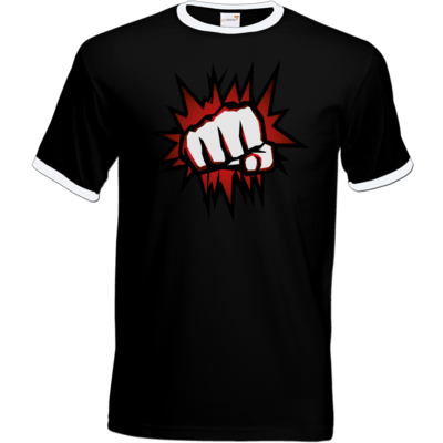 Motiv: T-Shirt Ringer - NEW Redfist