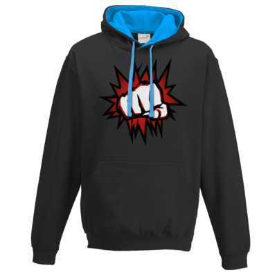 Motiv: Two-Tone Hoodie - NEW Redfist