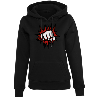 Motiv: Womens Heavy Hoody - NEW Redfist