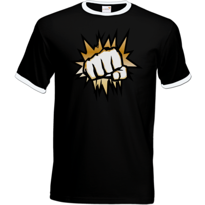 Motiv: T-Shirt Ringer - NEW GoldenFisting