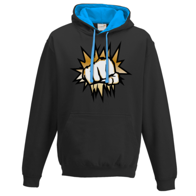 Motiv: Two-Tone Hoodie - NEW GoldenFisting