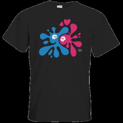 Motiv: T-Shirt Premium FAIR WEAR - Flaplatscher - Flirtsch