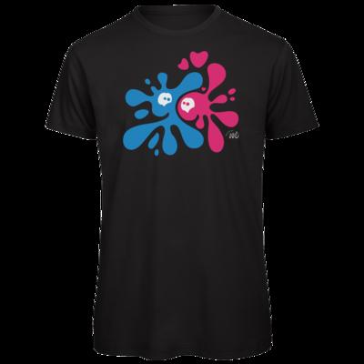 Motiv: Organic T-Shirt - Flaplatscher - Flirtsch