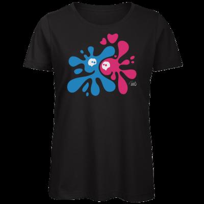 Motiv: Organic Lady T-Shirt - Flaplatscher - Flirtsch
