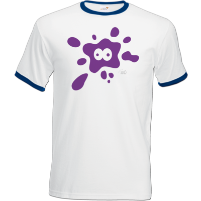 Motiv: T-Shirt Ringer - Flaplatscher - Splash