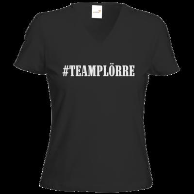 Motiv: T-Shirts Damen V-Neck FAIR WEAR - Teamplörre