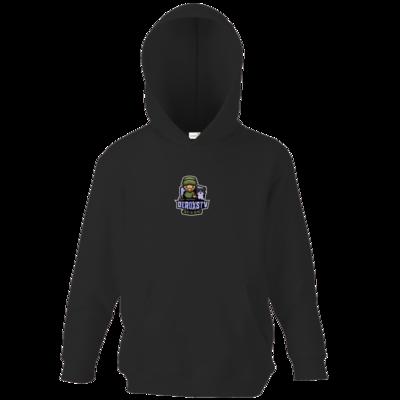 Motiv: Kids Hooded Sweat - DeroxsTV Logo