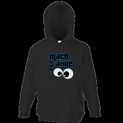 Motiv: Kids Hooded Sweat - mach kein Auge