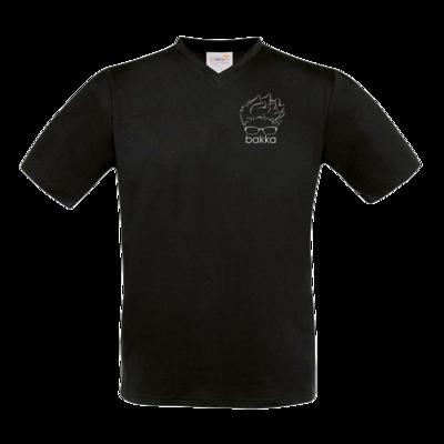 Motiv: T-Shirt V-Neck FAIR WEAR - tiny bakka