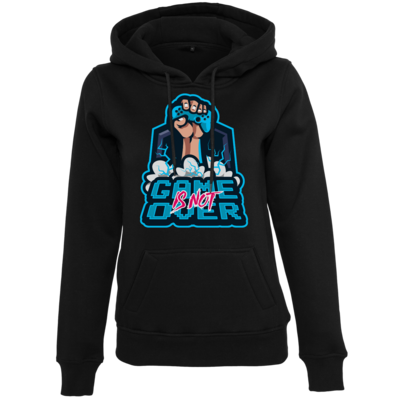 Motiv: Womens Heavy Hoody - Game Is Not Over