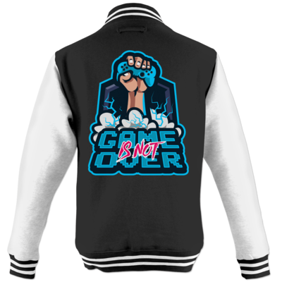 Motiv: College Jacke - Game Is Not Over