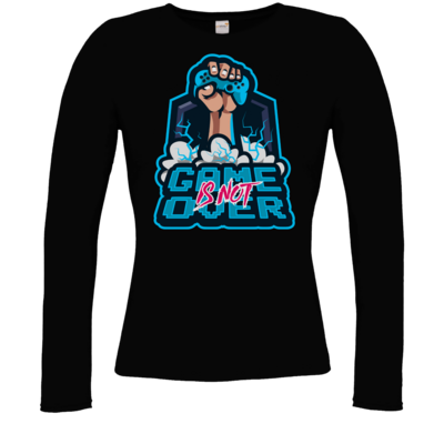 Motiv: Longsleeve Damen Organic - Game Is Not Over