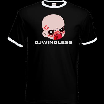 Motiv: T-Shirt Ringer - Rage mit Name