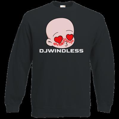 Motiv: Sweatshirt Classic - Herzen mit Schrift
