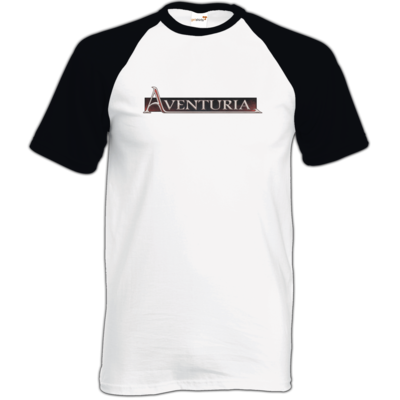 Motiv: TShirt Baseball - Logo - Aventuria