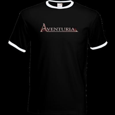 Motiv: T-Shirt Ringer - Logo - Aventuria