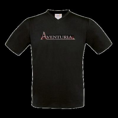Motiv: T-Shirt V-Neck FAIR WEAR - Logo - Aventuria