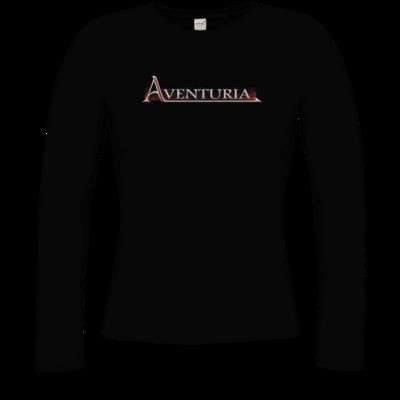 Motiv: Longsleeve Damen Organic - Logo - Aventuria