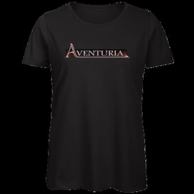 Motiv: Organic Lady T-Shirt - Logo - Aventuria