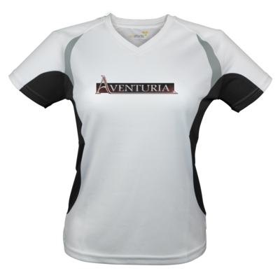 Motiv: Laufshirt Lady Running T - Logo - Aventuria
