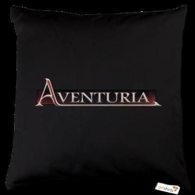Motiv: Kissen Baumwolle - Logo - Aventuria