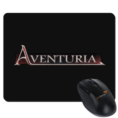 Motiv: Mousepad Textil - Logo - Aventuria