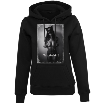 Motiv: Womens Heavy Hoody - Cat