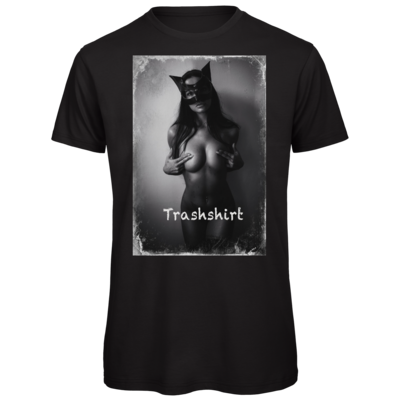 Motiv: Organic T-Shirt - Cat