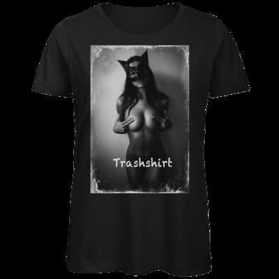 Motiv: Organic Lady T-Shirt - Cat