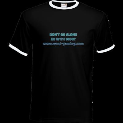 Motiv: T-Shirt Ringer - Slogan