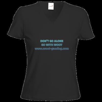 Motiv: T-Shirts Damen V-Neck FAIR WEAR - Slogan