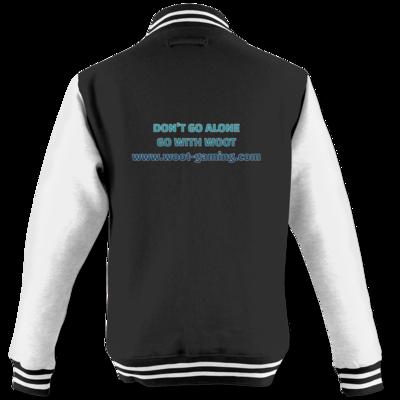 Motiv: College Jacke - Slogan