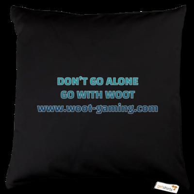 Motiv: Kissen Baumwolle - Slogan
