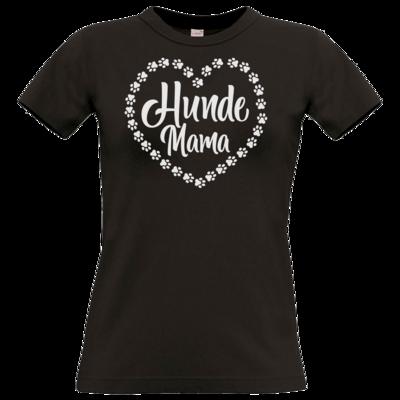 Motiv: T-Shirt Damen Premium FAIR WEAR - Hunde Mama