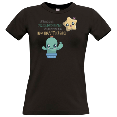 Motiv: T-Shirt Damen Premium FAIR WEAR - UWU Friendship