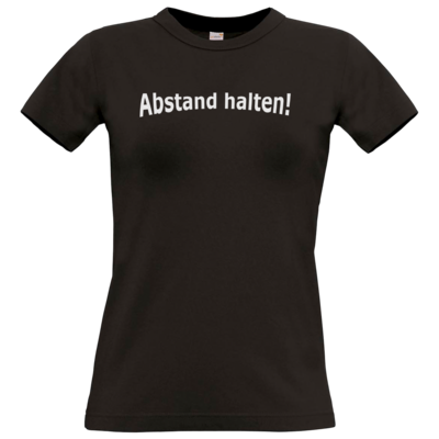 Motiv: T-Shirt Damen Premium FAIR WEAR - Abstand
